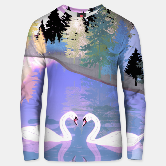 Thumbnail image of Swans  Unisex sweater, Live Heroes