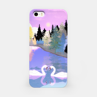 Thumbnail image of Swans  iPhone Case, Live Heroes