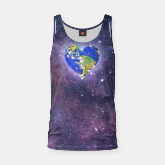 Thumbnail image of Heart o Milkyway  Tank Top, Live Heroes