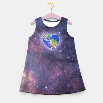 Thumbnail image of Heart o Milkyway  Girl's summer dress, Live Heroes