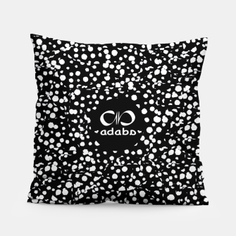Thumbnail image of Dots bw Pillow, Live Heroes