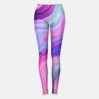 Miniatur Illuminated electrical rays II Leggings, Live Heroes
