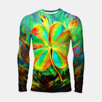 Thumbnail image of good luck Longsleeve rashguard , Live Heroes