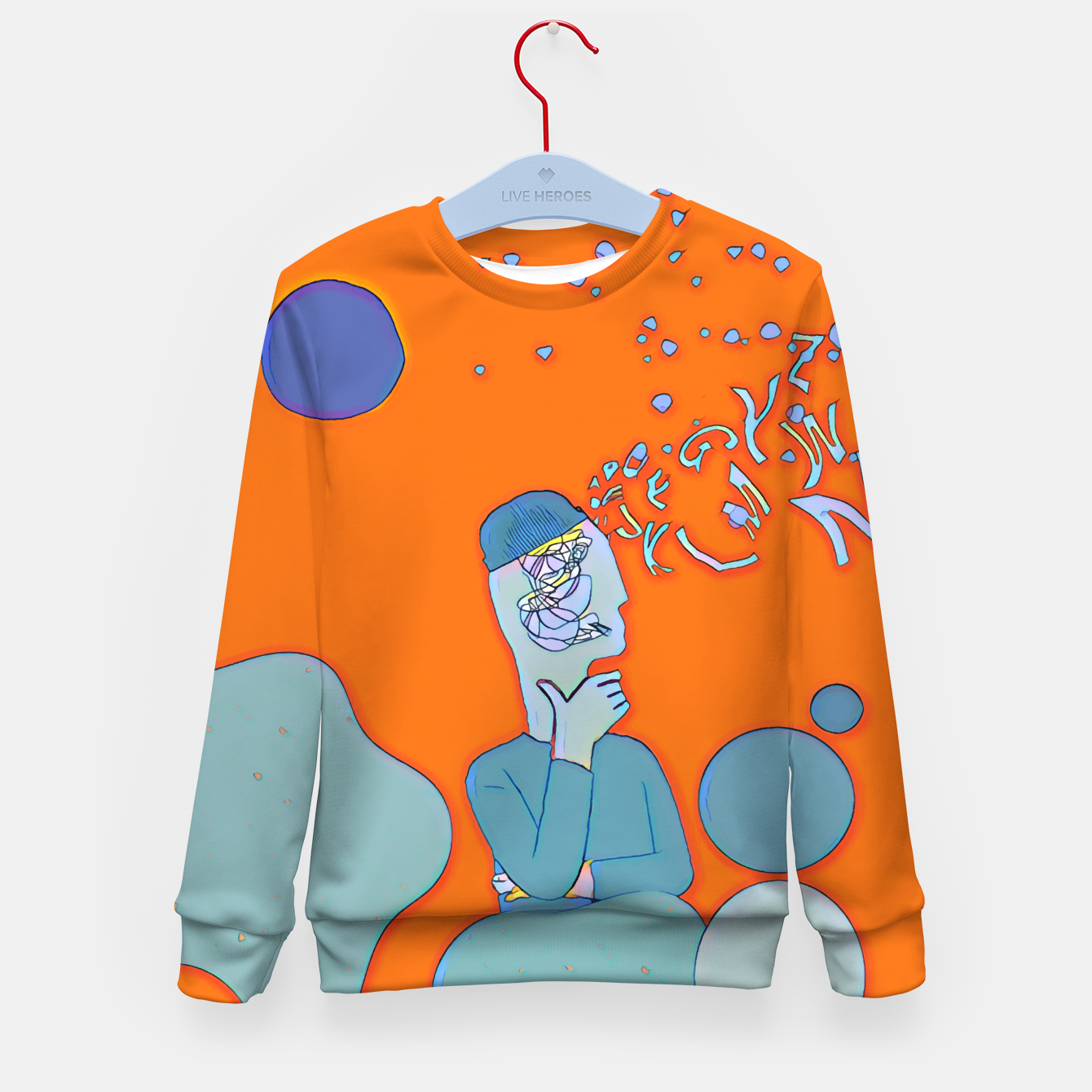 Image of Mind Kid's sweater - Live Heroes