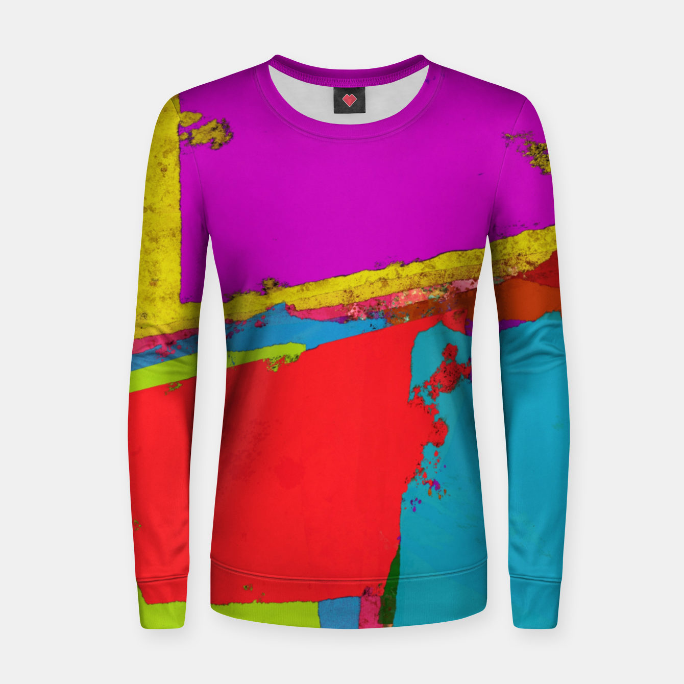 Image of Panel time Women sweater - Live Heroes
