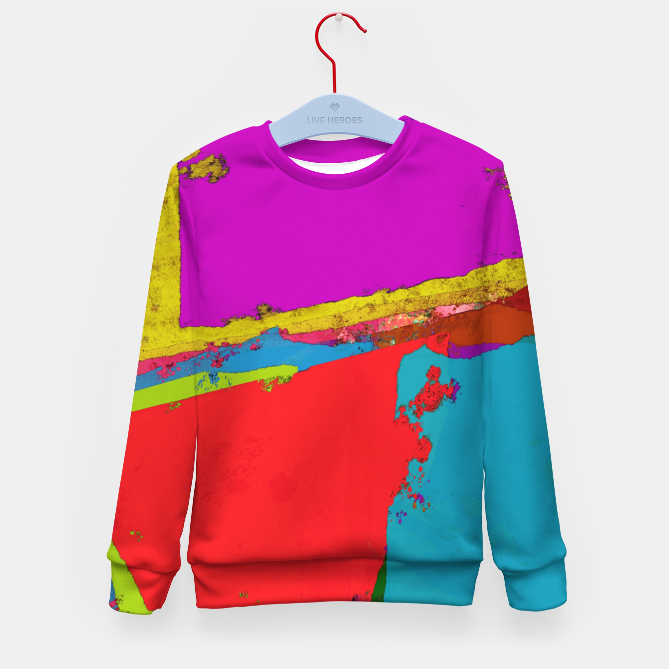 Image of Panel time Kid's sweater - Live Heroes