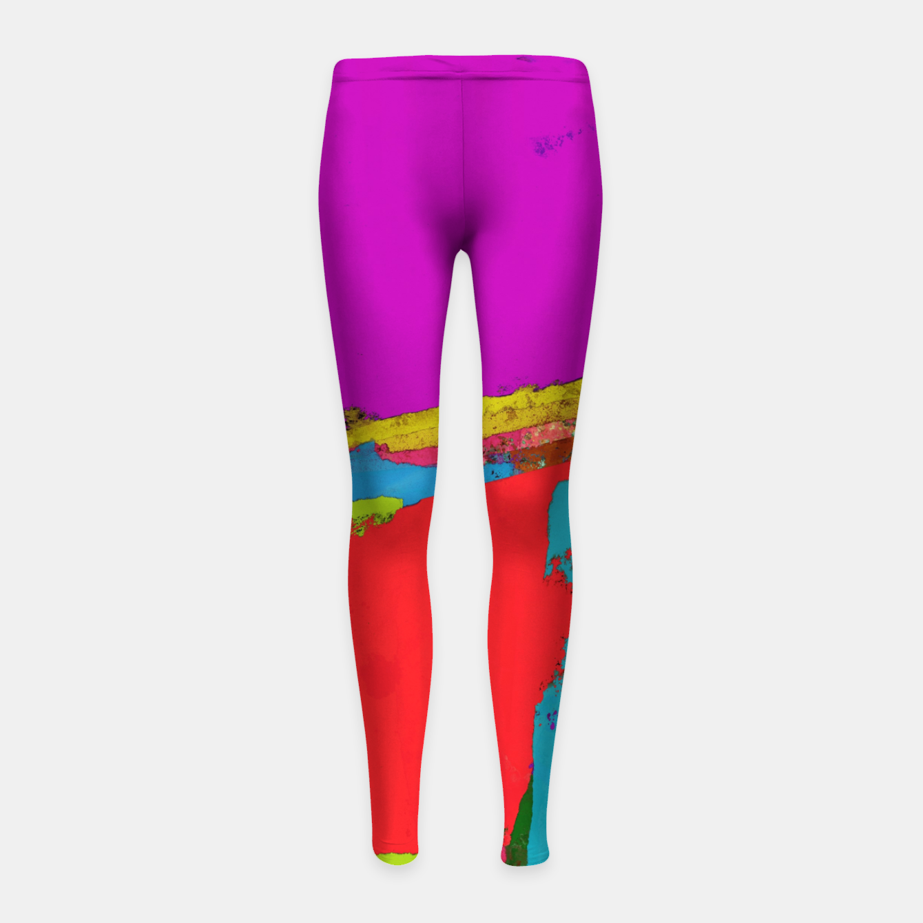 Image of Panel time Girl's leggings - Live Heroes