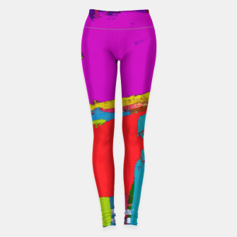Thumbnail image of Panel time Leggings, Live Heroes