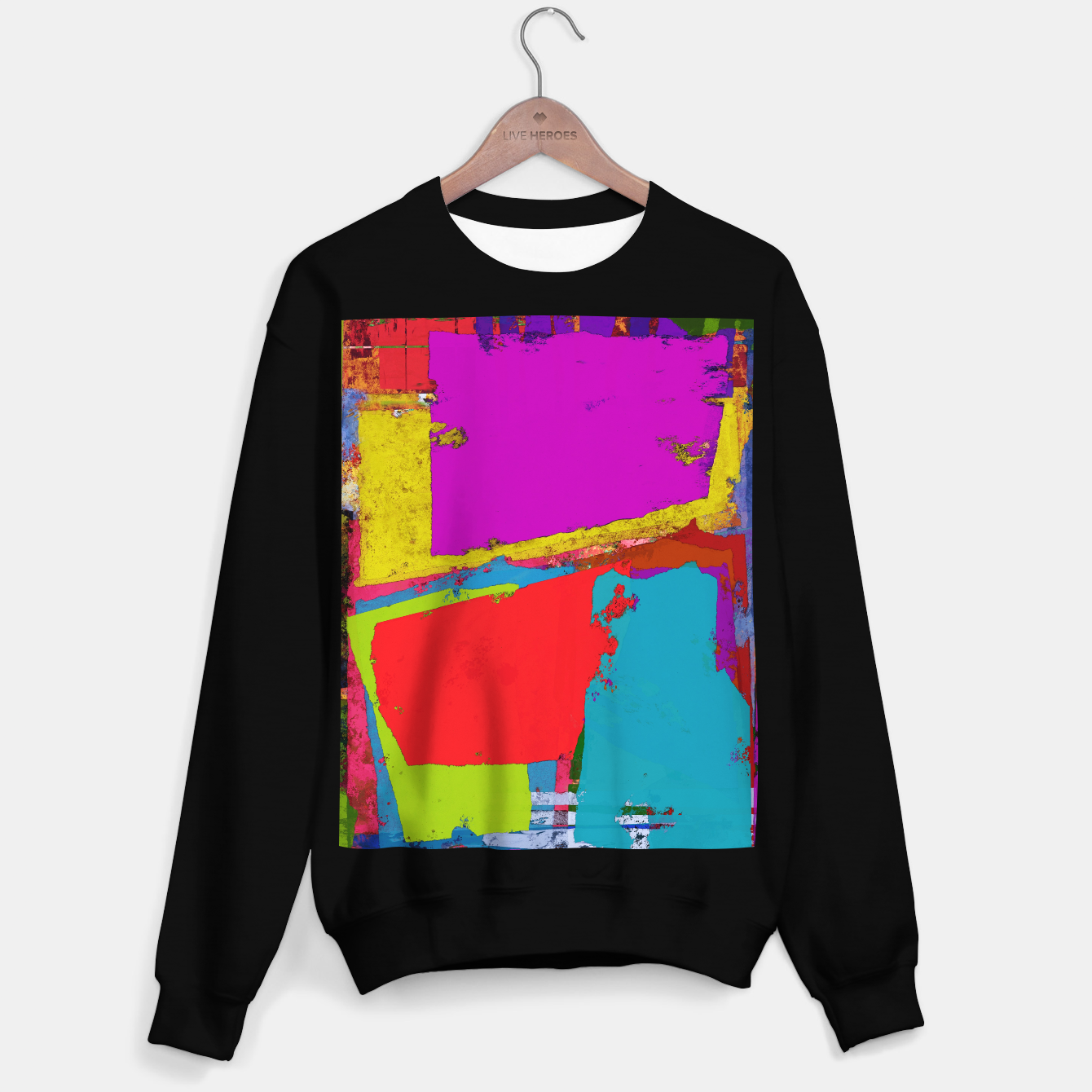Image of Panel time Sweater regular - Live Heroes