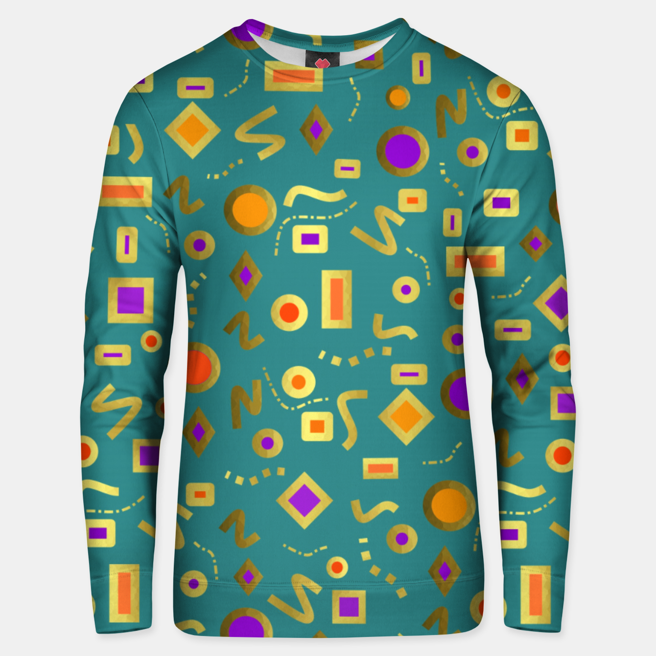 Image of Retro Mod Shapes Unisex sweater - Live Heroes