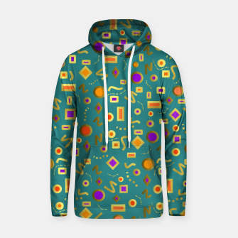 Thumbnail image of Retro Mod Shapes Hoodie, Live Heroes