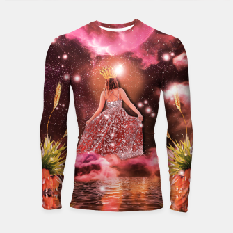 THE EMPRESS TAROT CARD Longsleeve rashguard thumbnail image