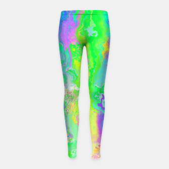 Thumbnail image of HIATUS Girl's leggings, Live Heroes