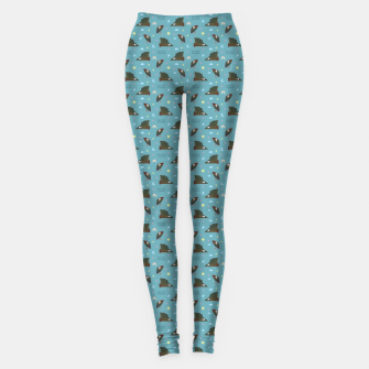 Thumbnail image of Hugin & Munin Leggings, Live Heroes