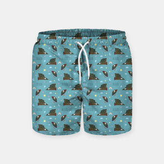 Hugin & Munin Swim Shorts thumbnail image