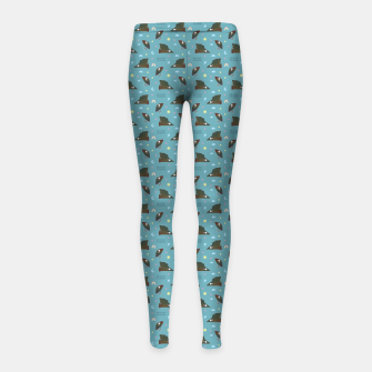 Hugin & Munin Girl's leggings thumbnail image