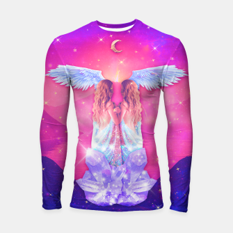 Thumbnail image of THE LOVERS TAROT CARD Longsleeve rashguard, Live Heroes