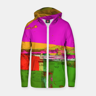 Thumbnail image of Safety zone Zip up hoodie, Live Heroes