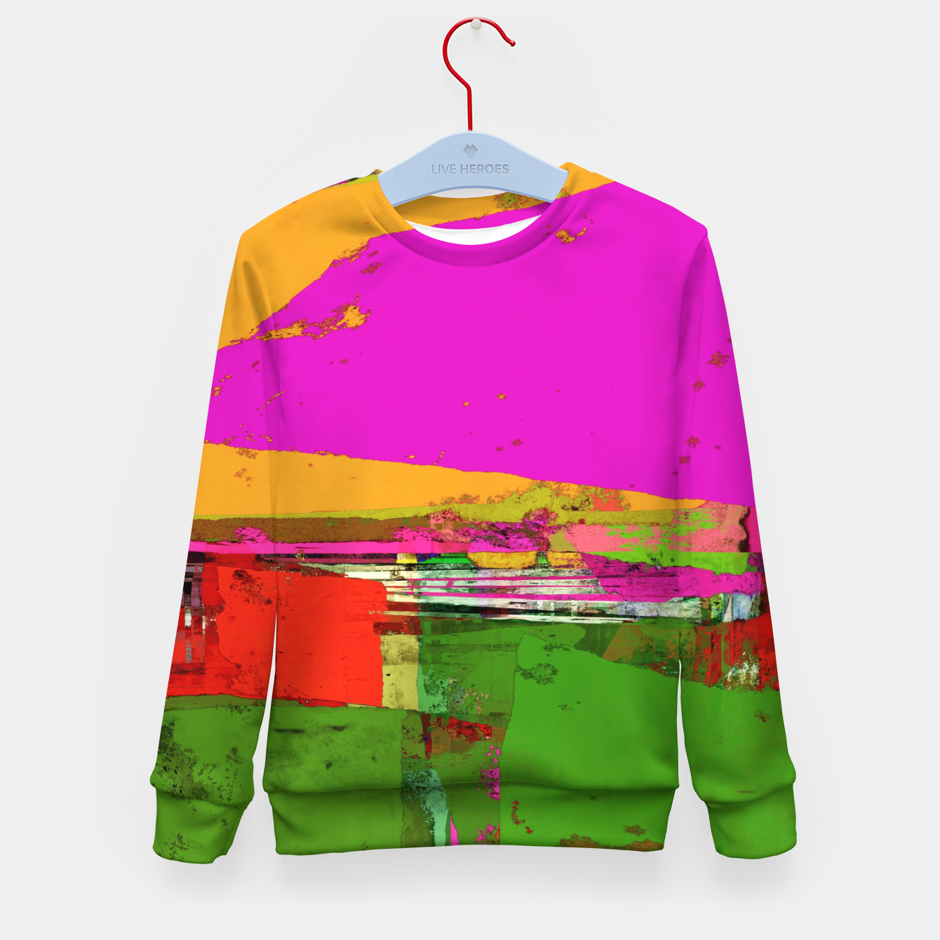 Image of Safety zone Kid's sweater - Live Heroes