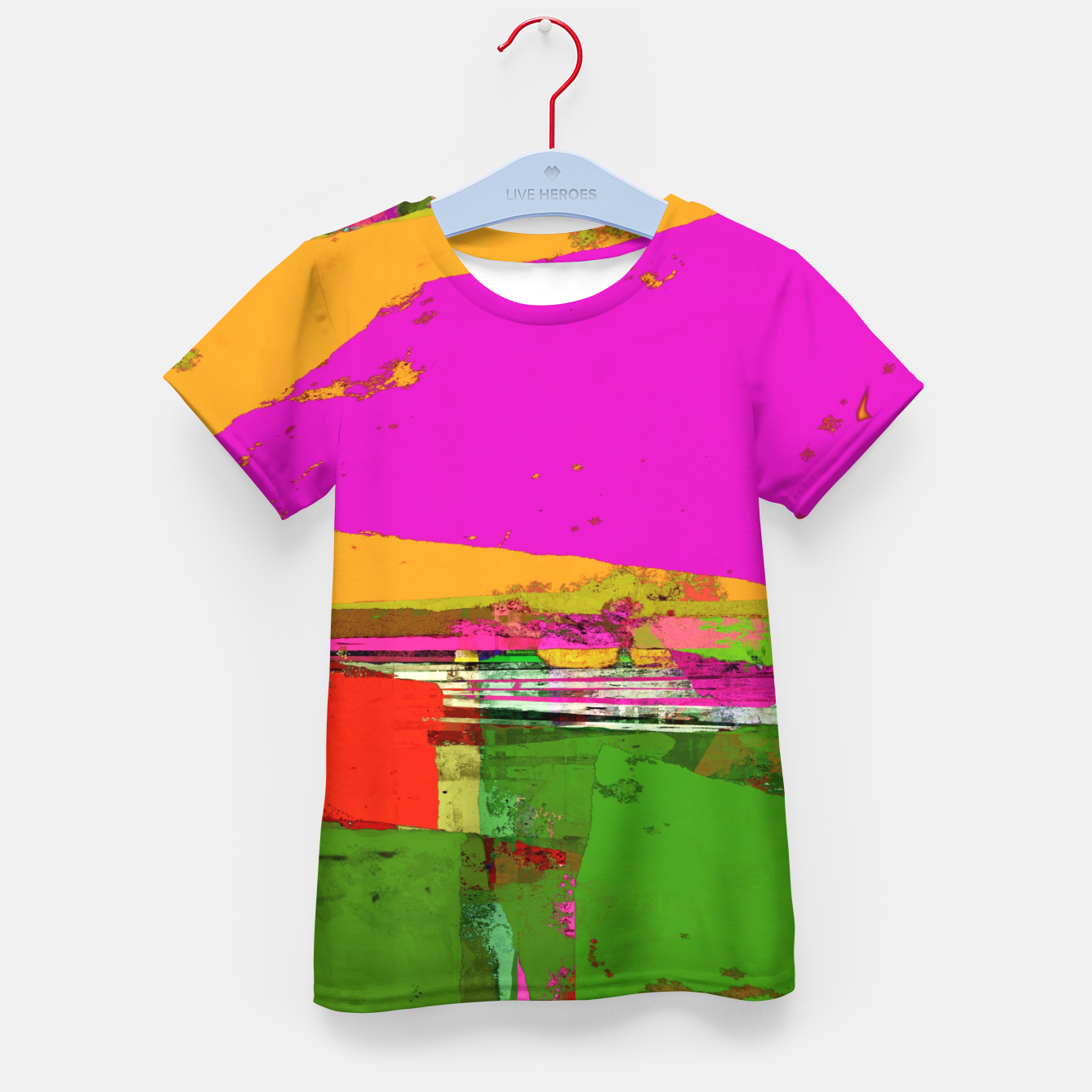 Image of Safety zone Kid's t-shirt - Live Heroes