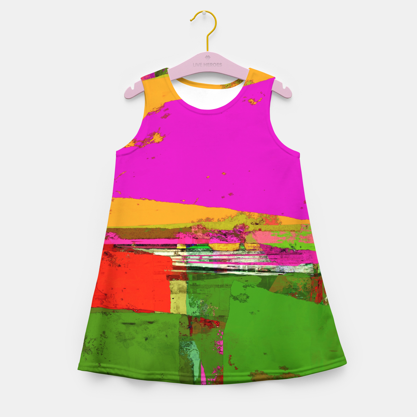 Image of Safety zone Girl's summer dress - Live Heroes