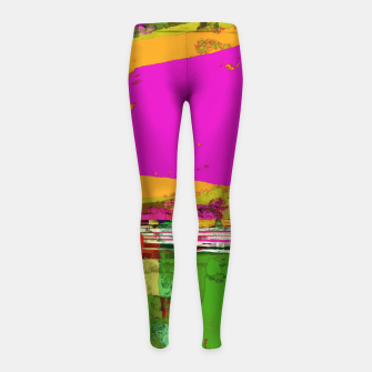 Thumbnail image of Safety zone Girl's leggings, Live Heroes
