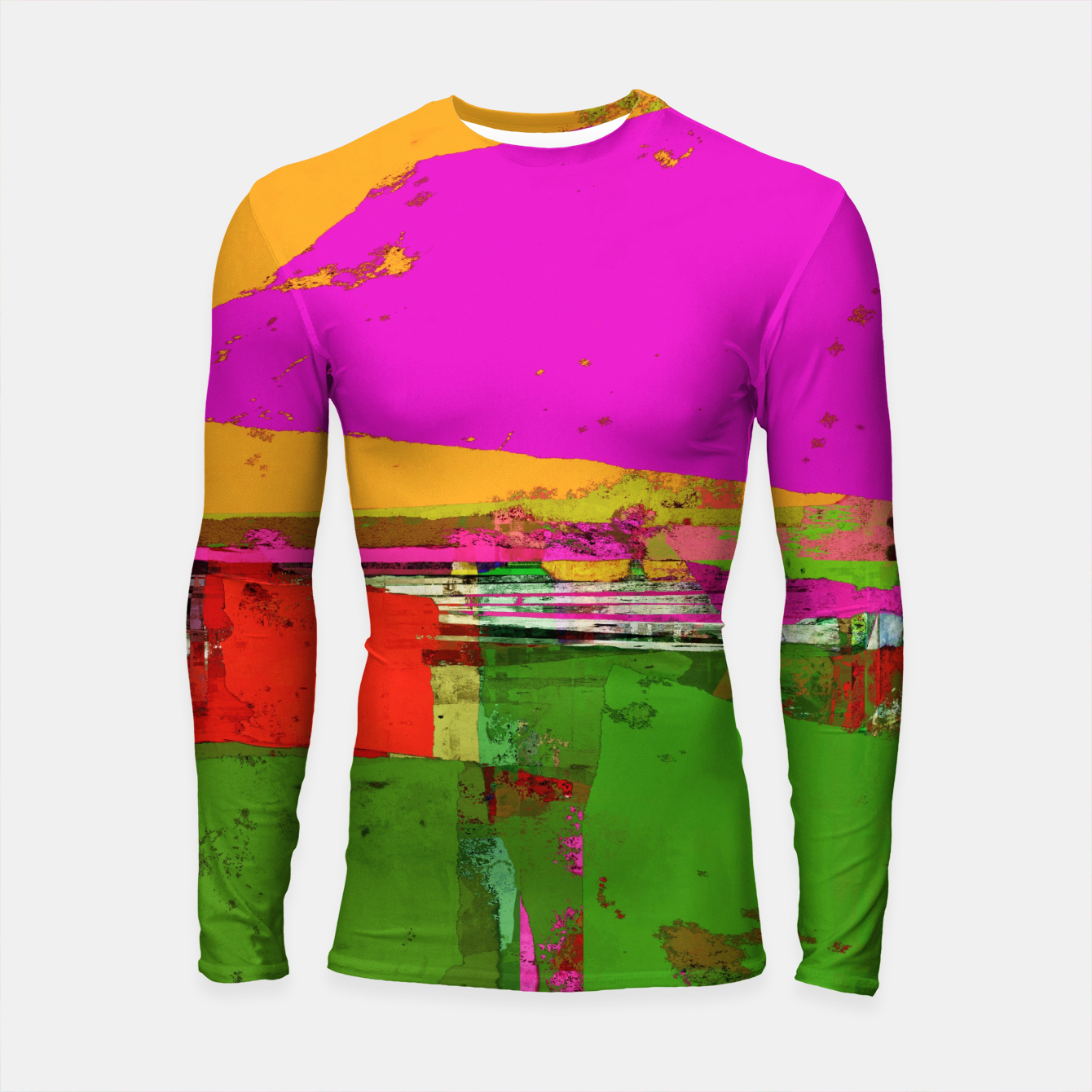 Image of Safety zone Longsleeve rashguard  - Live Heroes