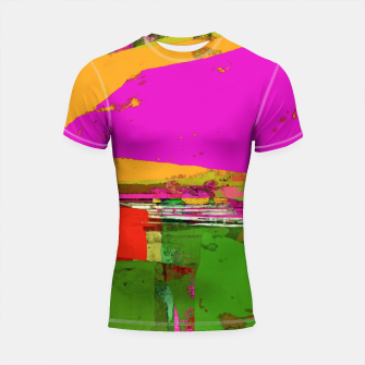 Thumbnail image of Safety zone Shortsleeve rashguard, Live Heroes