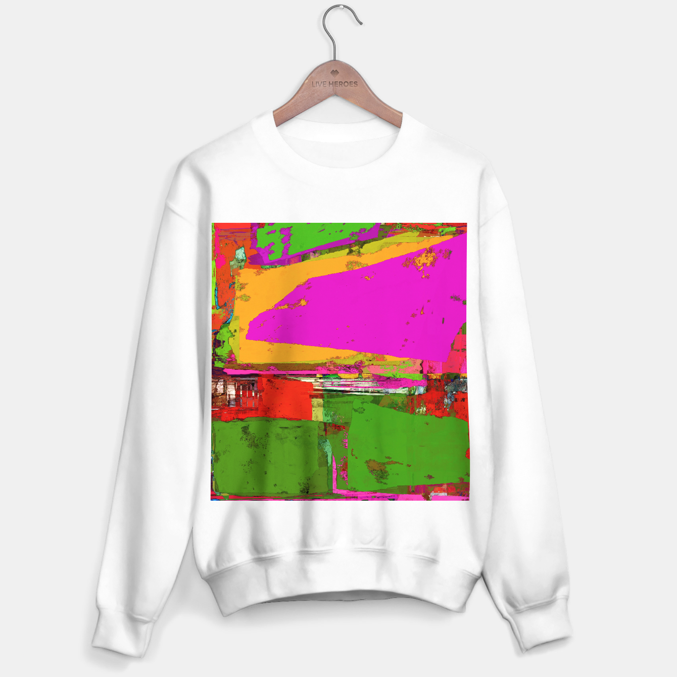 Image of Safety zone Sweater regular - Live Heroes
