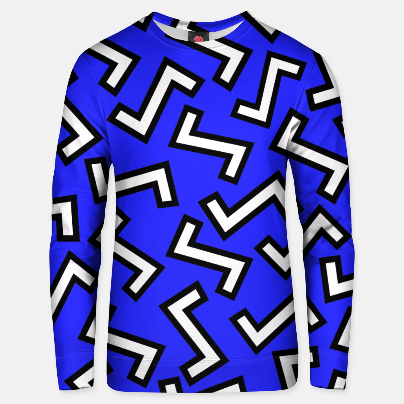 Image of 80s Blue Unisex sweater - Live Heroes