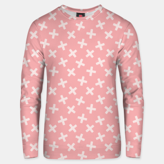 Thumbnail image of PINK / IVORY - CROSSES 1 Unisex sweater, Live Heroes