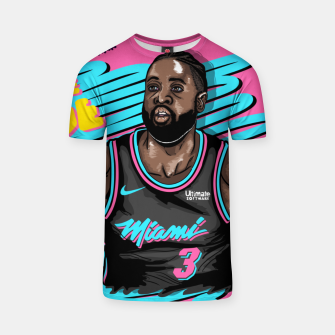 Miami Heat Summer Wave Camiseta thumbnail image
