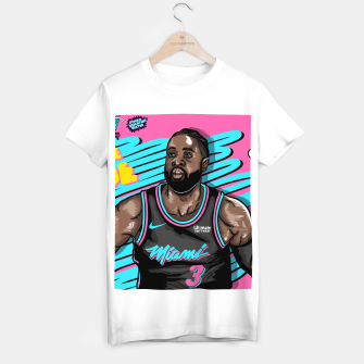 Thumbnail image of Miami Heat Summer Wave Camiseta Regular, Live Heroes