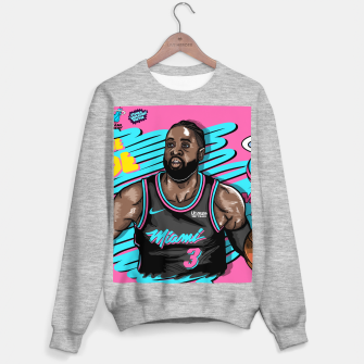 Miami Heat Summer Wave Sudadera regular thumbnail image