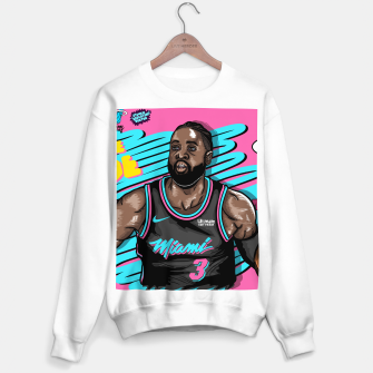 Thumbnail image of Miami Heat Summer Wave Sudadera regular, Live Heroes