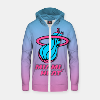 Thumbnail image of Miami Heat Summer Vibes Sudadera con capucha y cremallera , Live Heroes