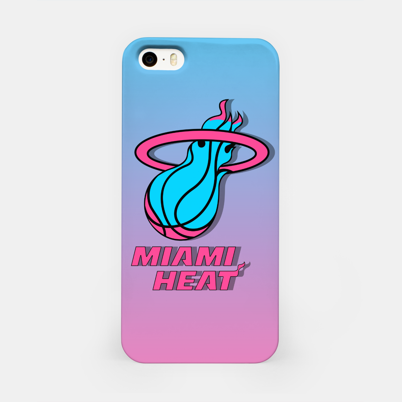 Image of Miami Heat Summer Vibes Carcasa por Iphone - Live Heroes