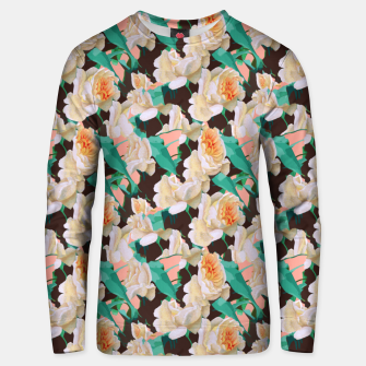 Miniatur Tropical & White Blossom Unisex sweater, Live Heroes