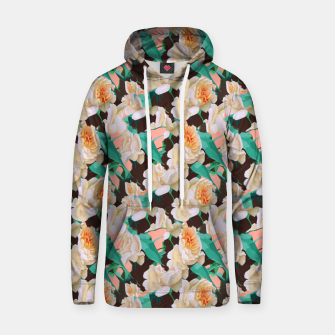 Thumbnail image of Tropical & White Blossom Hoodie, Live Heroes