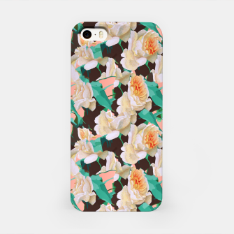 Miniatur Tropical & White Blossom iPhone Case, Live Heroes