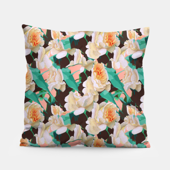 Thumbnail image of Tropical & White Blossom Pillow, Live Heroes