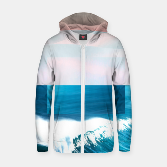 Ocean & Moon Zip up hoodie thumbnail image