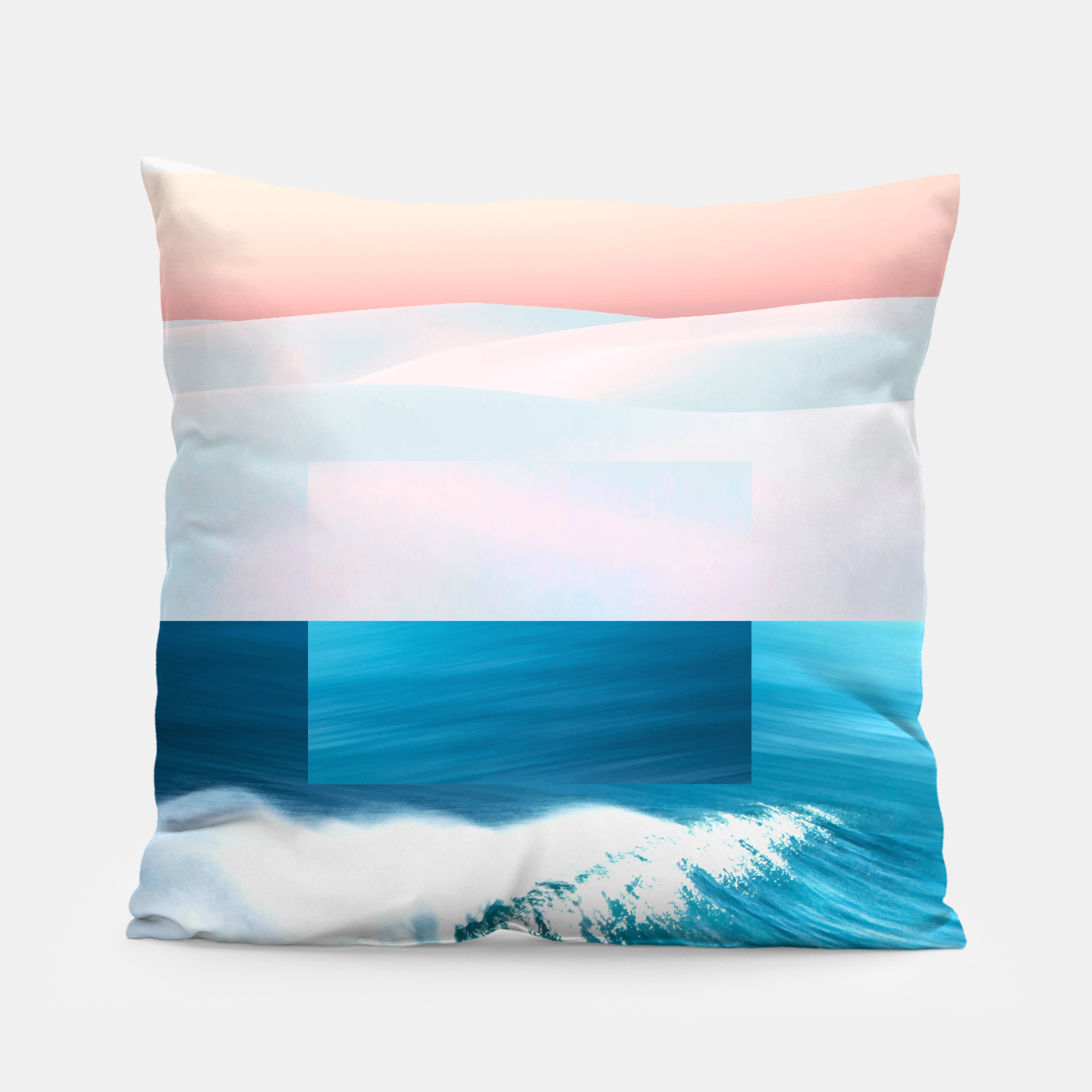Image of Ocean & Moon Pillow - Live Heroes