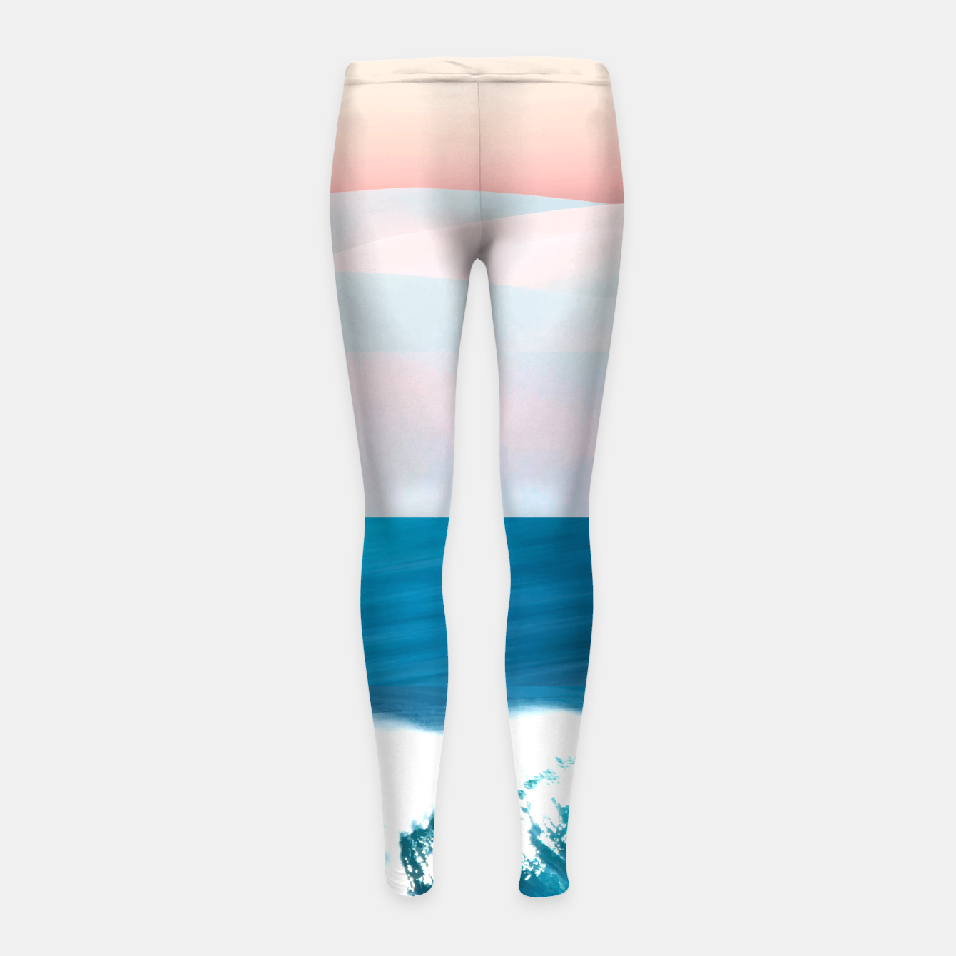 Image of Ocean & Moon Girl's leggings - Live Heroes