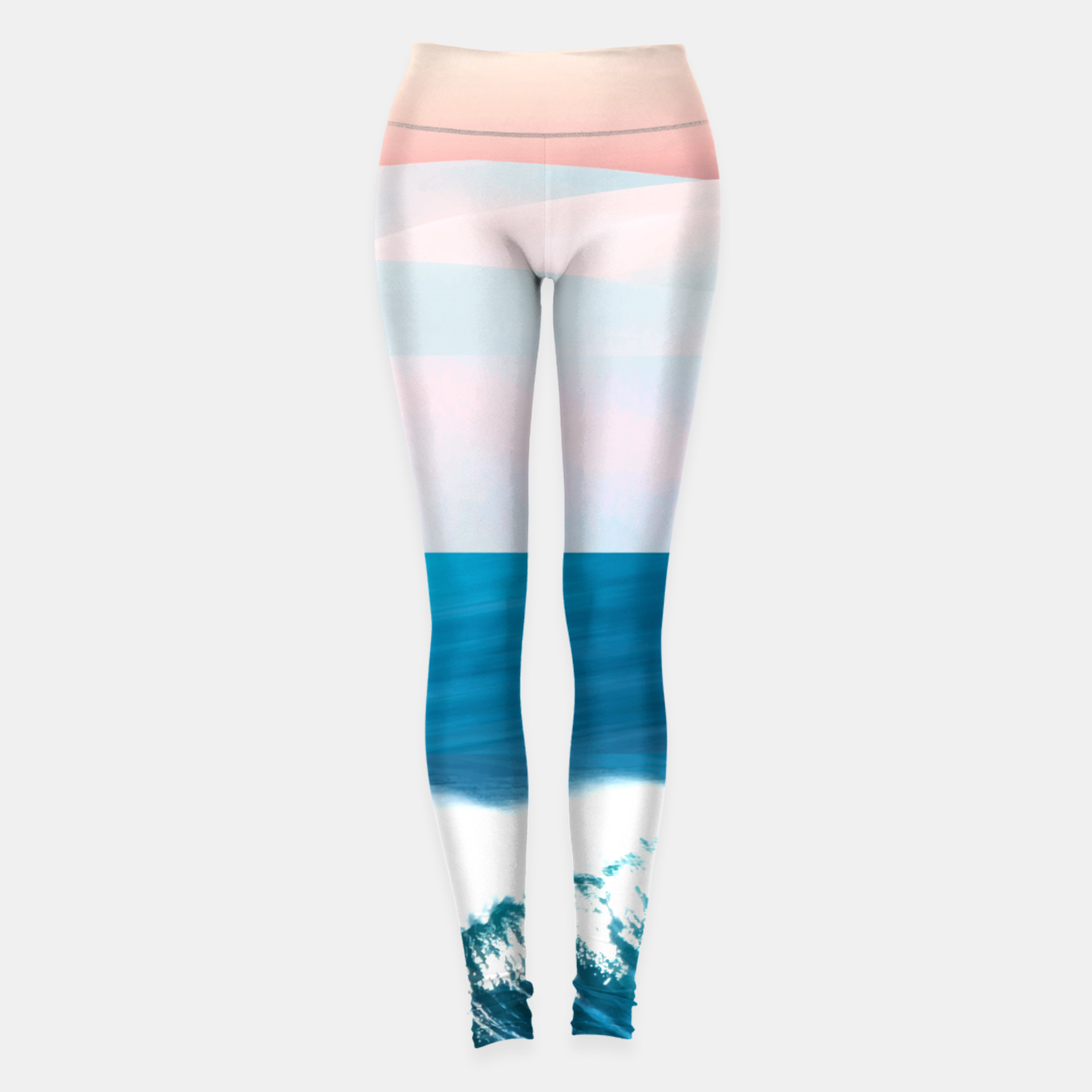 Image of Ocean & Moon Leggings - Live Heroes
