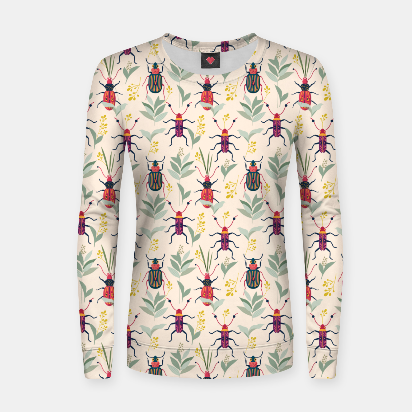 Image of Summer Bugs Women sweater - Live Heroes