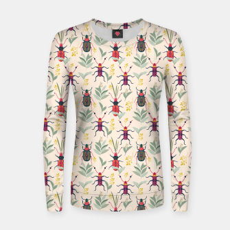 Summer Bugs Women sweater thumbnail image