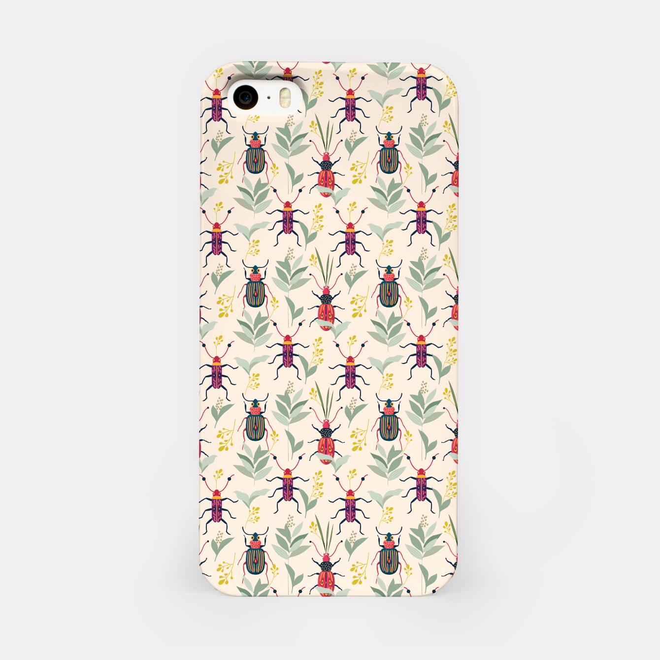 Image of Summer Bugs iPhone Case - Live Heroes