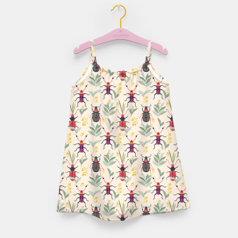 Summer Bugs Girl's dress thumbnail image