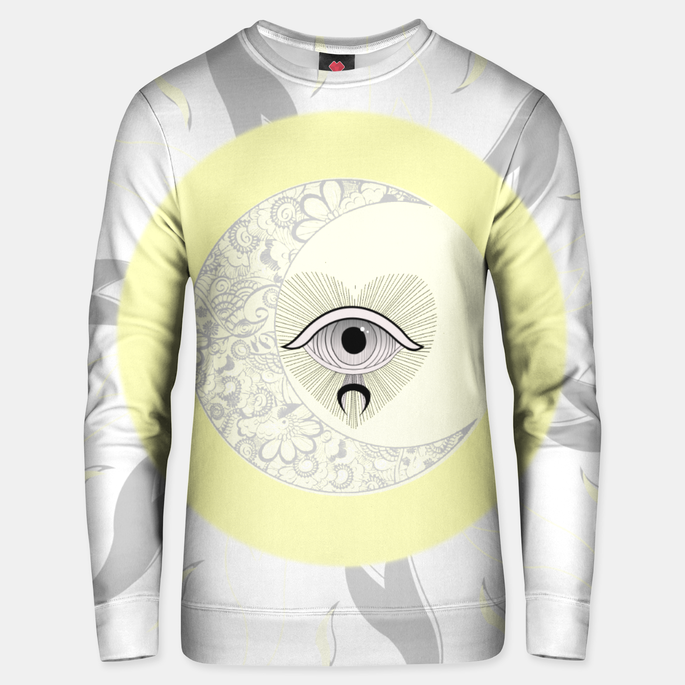 Image of sun moon eye Unisex pull - Live Heroes